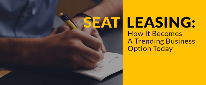 Seat Leasing Trending Business Option Today
